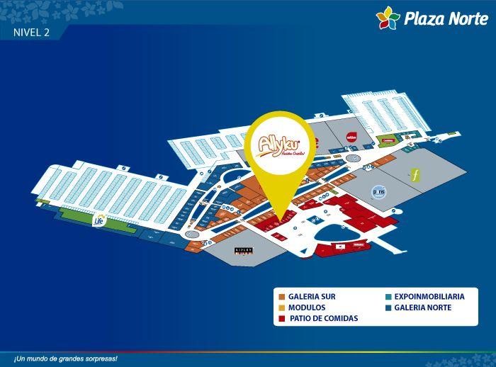 Allyku - Mapa de Ubicación - Plaza Norte