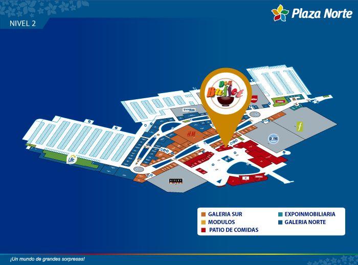 Don Buffet - Mapa de Ubicación - Plaza Norte