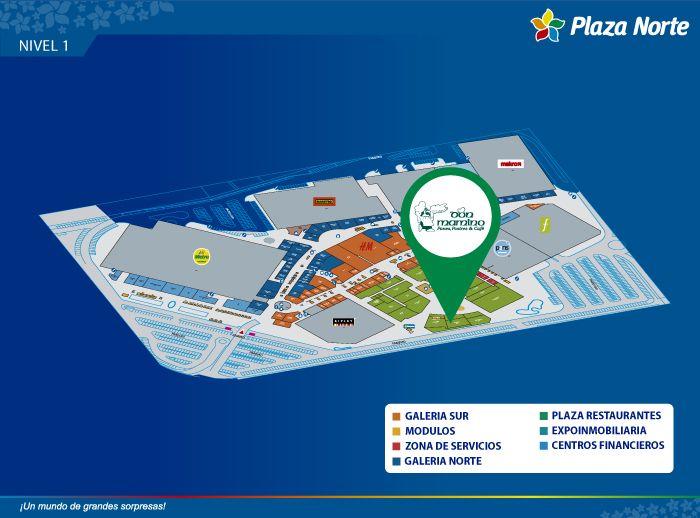 Don Mamino - Mapa de Ubicación - Plaza Norte