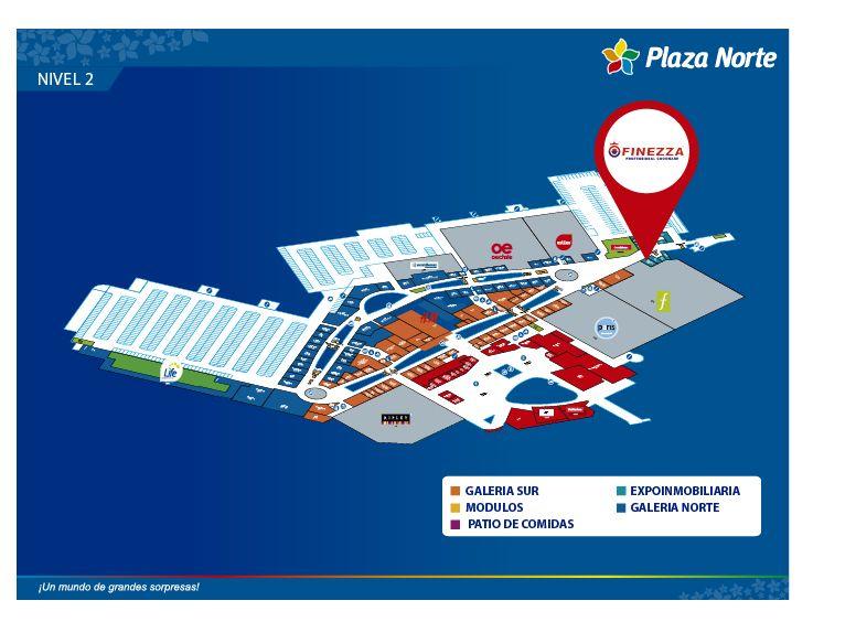 FINEZZA - Mapa de Ubicación - Plaza Norte