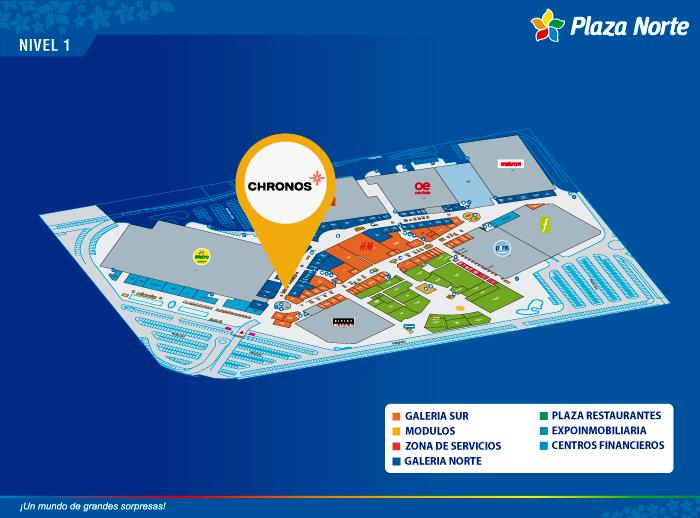 Chronos - Mapa de Ubicación - Plaza Norte