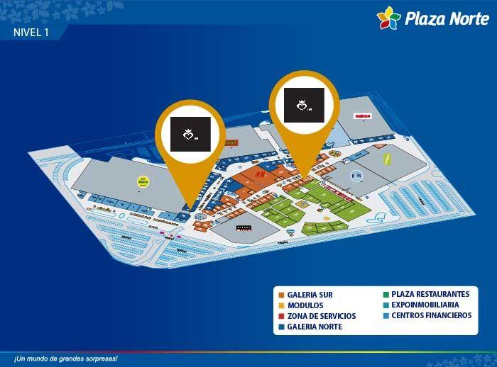 TM - Mapa de Ubicación - Plaza Norte