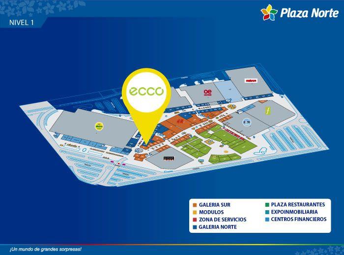 ECCO - Mapa de Ubicación - Plaza Norte