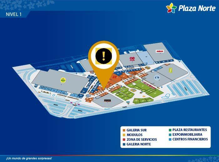 PIONIER - Mapa de Ubicación - Plaza Norte