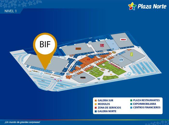 Banbif - Mapa de Ubicación - Plaza Norte