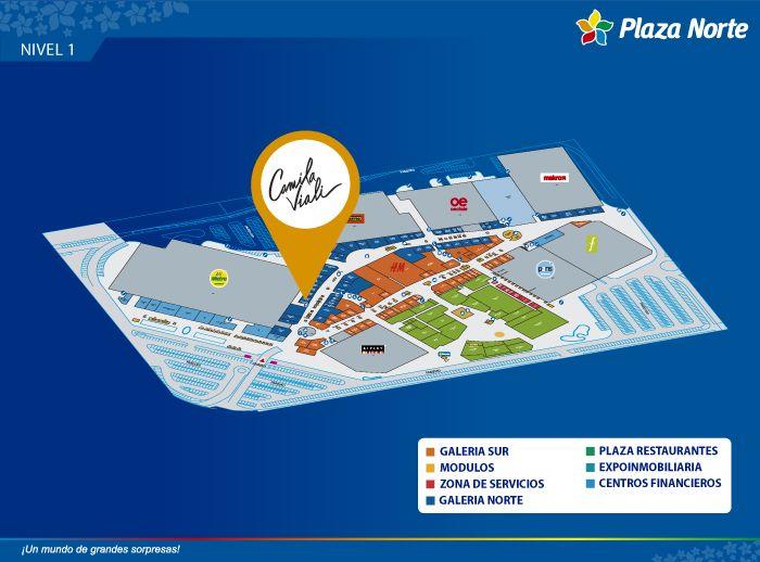 CAMILA VIALI - Mapa de Ubicación - Plaza Norte