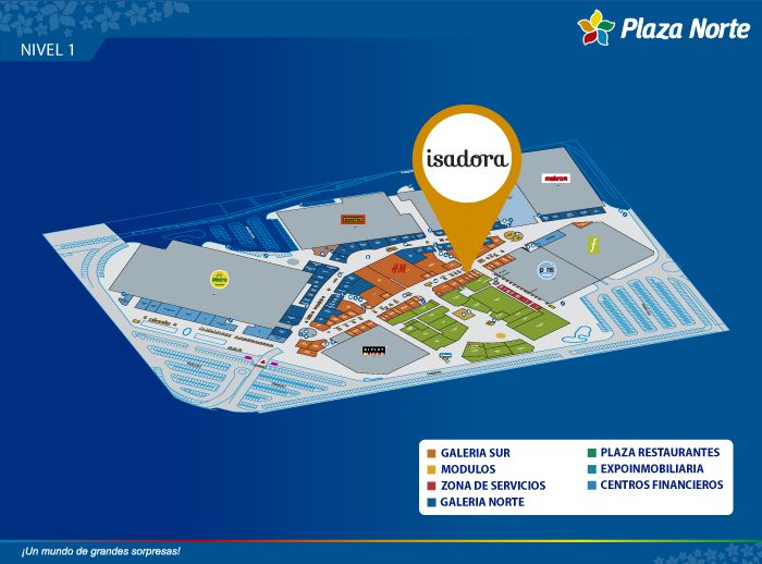 Isadora - Mapa de Ubicación - Plaza Norte