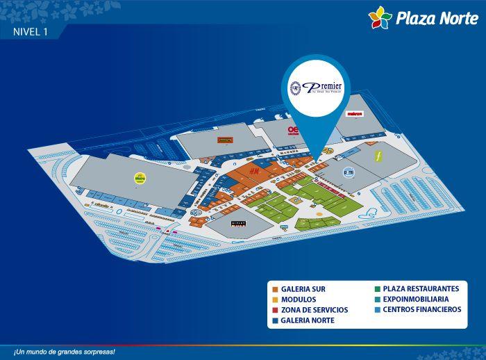 DEAD SEA PREMIER - Mapa de Ubicación - Plaza Norte
