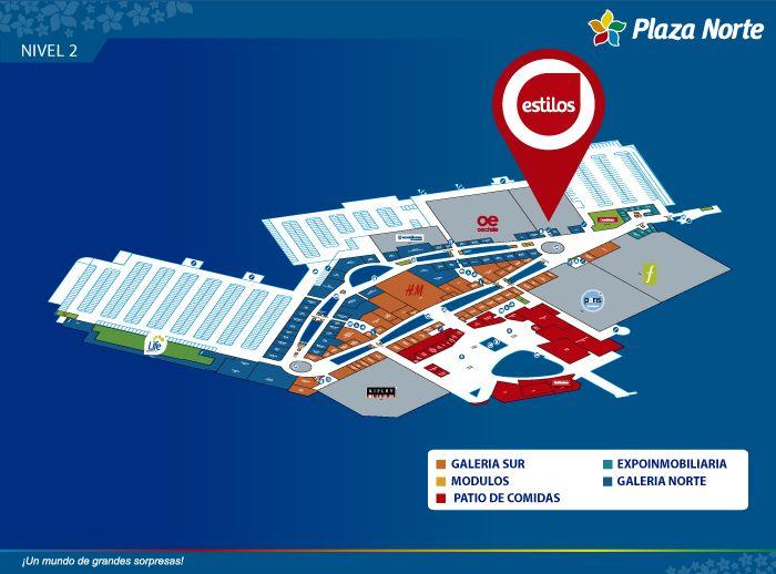 Estilos - Mapa de Ubicación - Plaza Norte