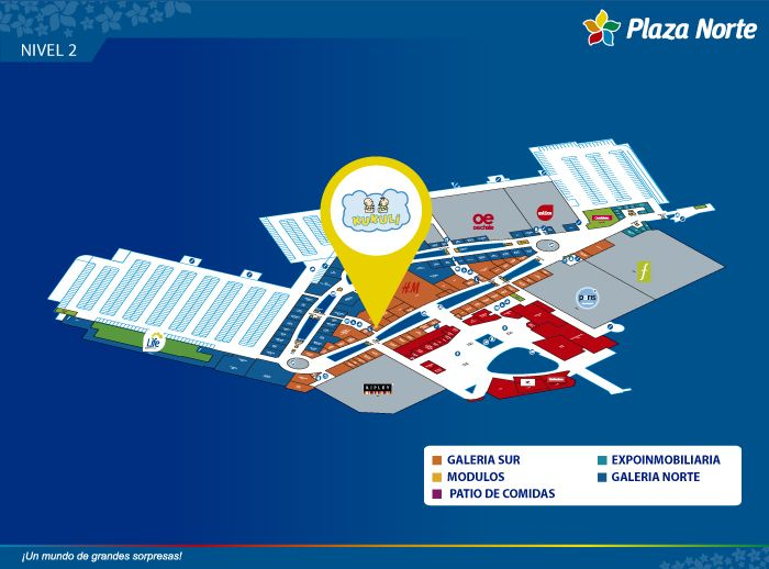 KUKULI - Mapa de Ubicación - Plaza Norte