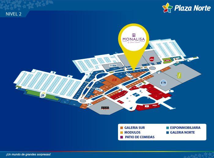 Monalisa - Mapa de Ubicación - Plaza Norte
