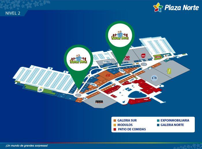 Safari Drive - Mapa de Ubicación - Plaza Norte