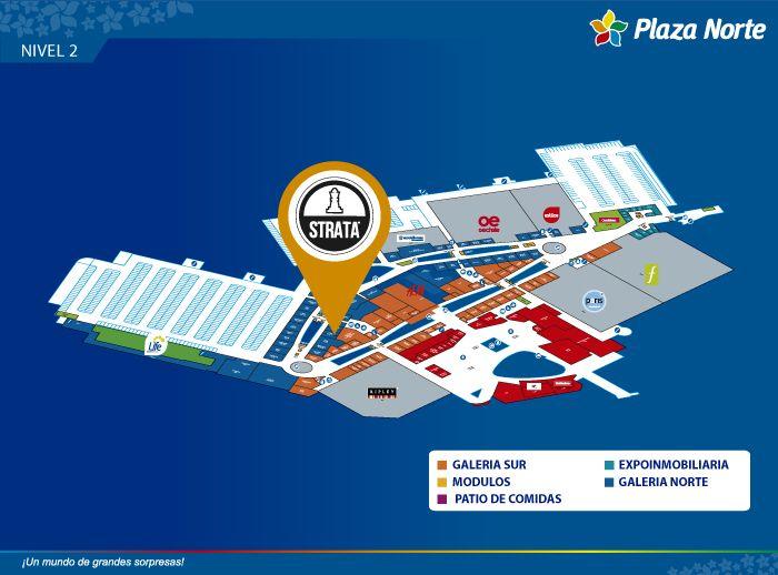 STRATA - Mapa de Ubicación - Plaza Norte