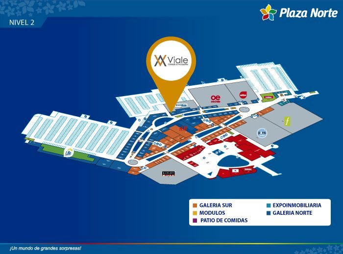 Viale - Mapa de Ubicación - Plaza Norte
