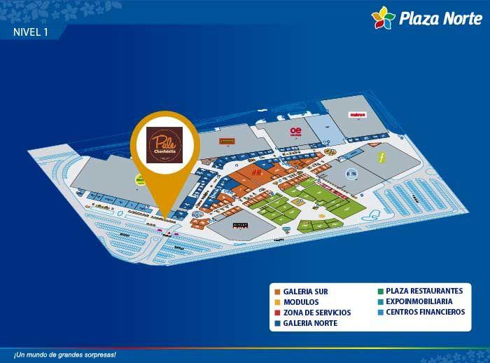 PALE - Mapa de Ubicación - Plaza Norte