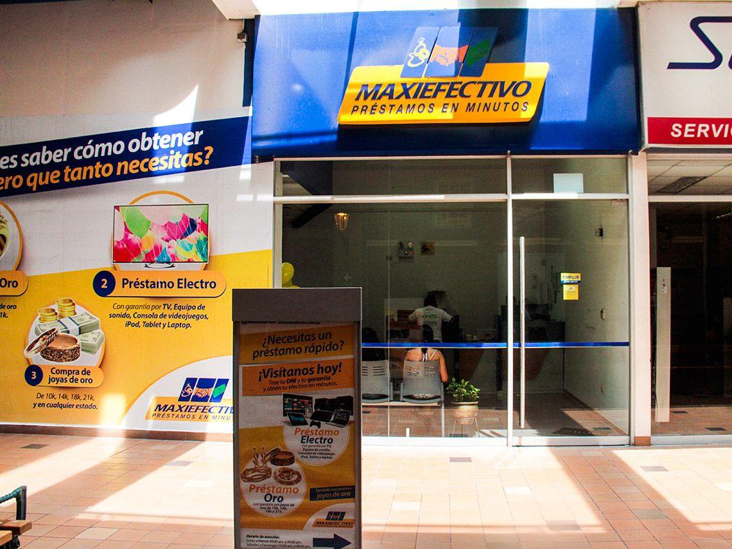 MAXIEFECTIVO - Plaza Norte