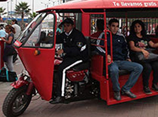 SERVICIO TUC TUC - Plaza Norte