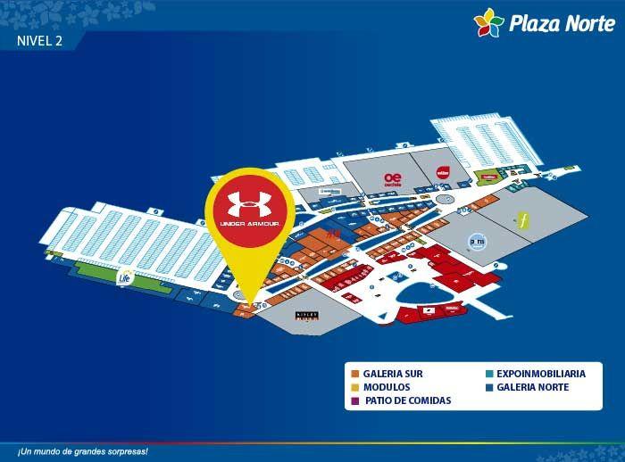 UNDER ARMOUR - Mapa de Ubicación - Plaza Norte