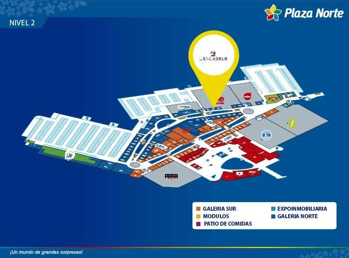 LANCASTER - Mapa de Ubicación - Plaza Norte