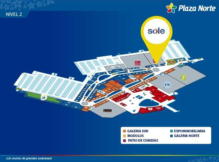 SOLE - Mapa de Ubicación - Plaza Norte