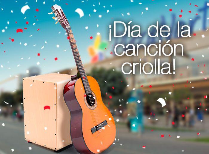 ¡Disfruta de lo mejor del Día de la Canción Criolla! - Plaza Norte