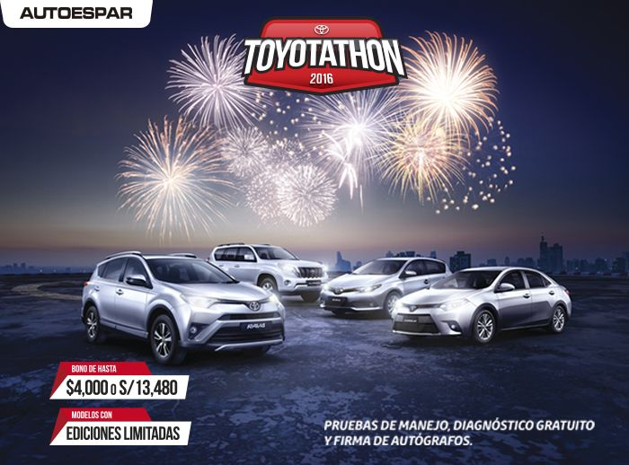 Toyotathon - Plaza Norte