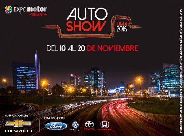 Expomotor presenta: ¡Auto Show Lima 2016! - Plaza Norte