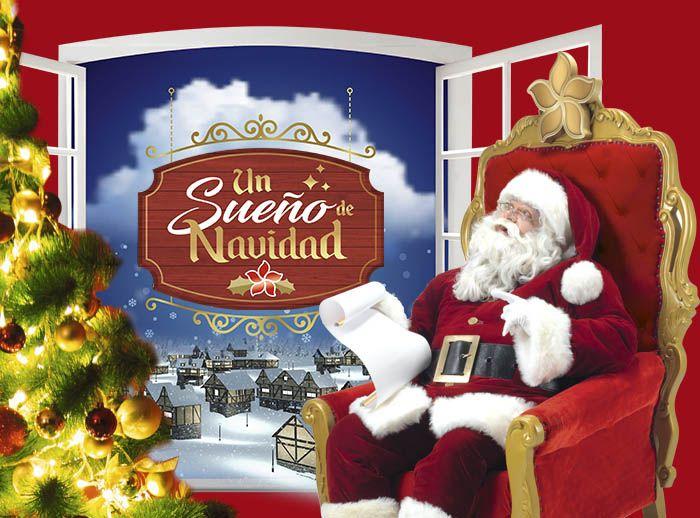 La Villa de Papa Noel presenta: ¡Un Sueño de Navidad!  - Plaza Norte