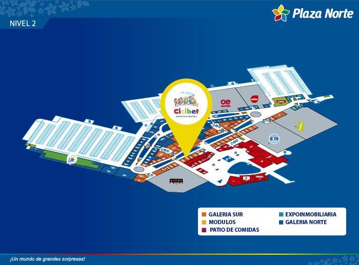Cicibet  - Mapa de Ubicación - Plaza Norte
