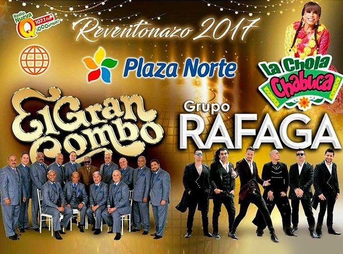 Reventonazo de Fin de Año 2017 con la Chola Chabuca - Plaza Norte
