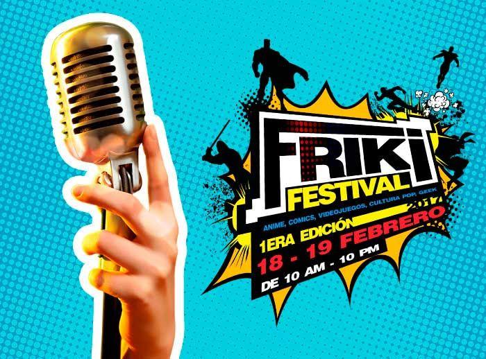 FRIKI FESTIVAL: CONCURSO KARAOKE - Plaza Norte