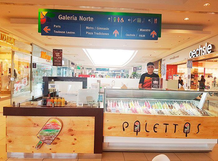 Palettas - Plaza Norte