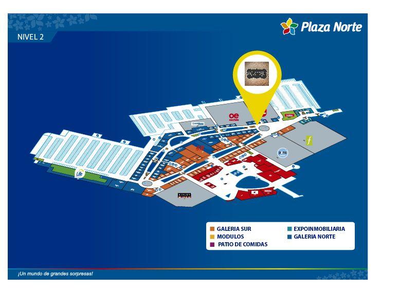 Palettas - Mapa de Ubicación - Plaza Norte