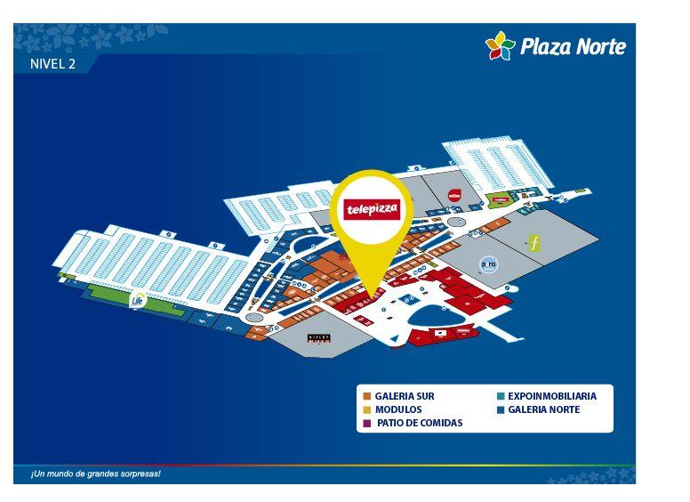 telepizza mapa TELEPIZZA   Plaza Norte telepizza mapa
