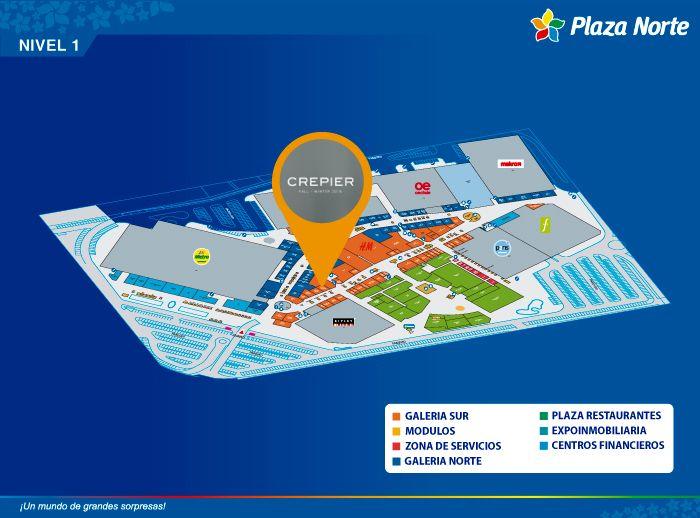 CREPIER - Mapa de Ubicación - Plaza Norte
