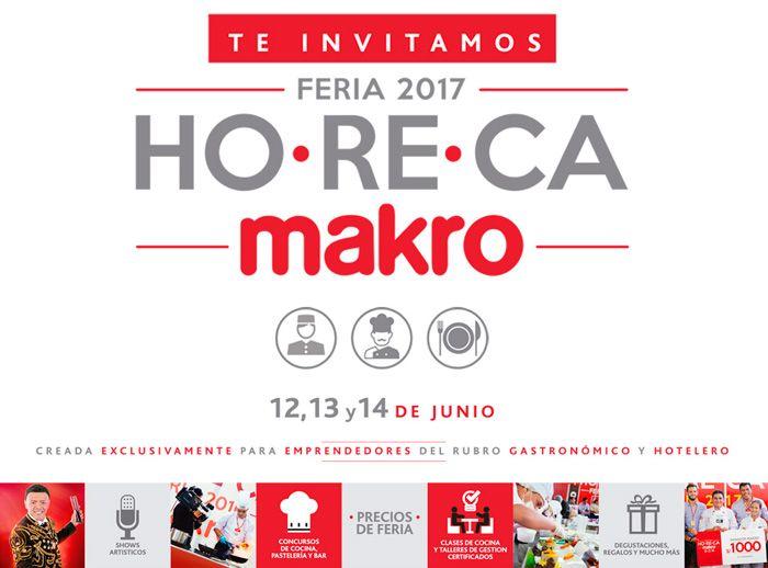 FERIA HORECA 2017 - MAKRO - Plaza Norte