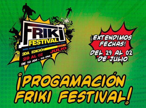 PROGRAMA FRIKI FESTIVAL - PLAZA NORTE 2017 - Plaza Norte