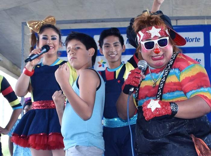 Show infantil Candy Colorín - Plaza Norte