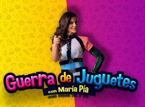 Firma de autógrafos Maria Pía - Plaza Norte