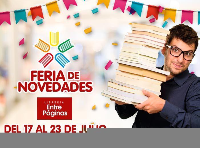 Feria de novedades Entre Páginas - Plaza Norte