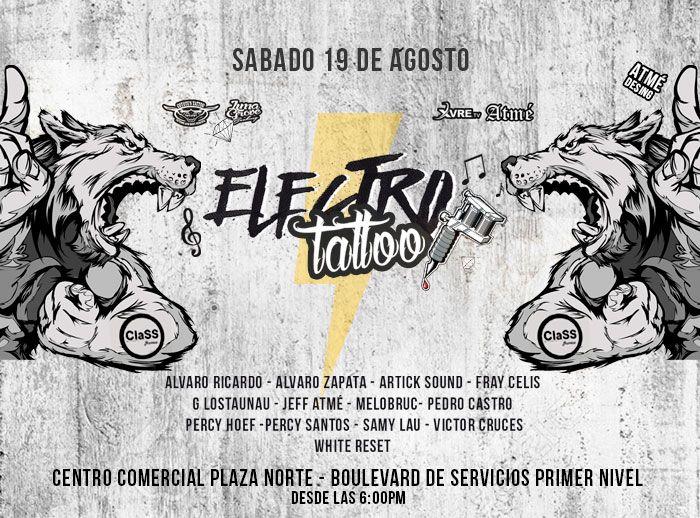 Electro Tattoo Coyote - Plaza Norte