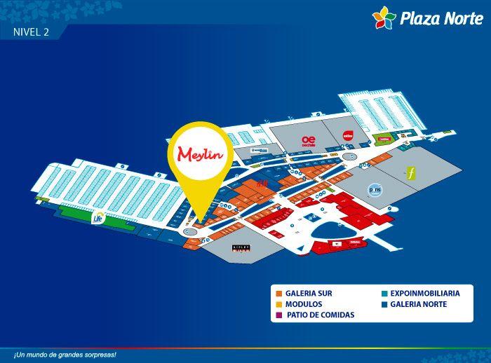 Meylin - Mapa de Ubicación - Plaza Norte