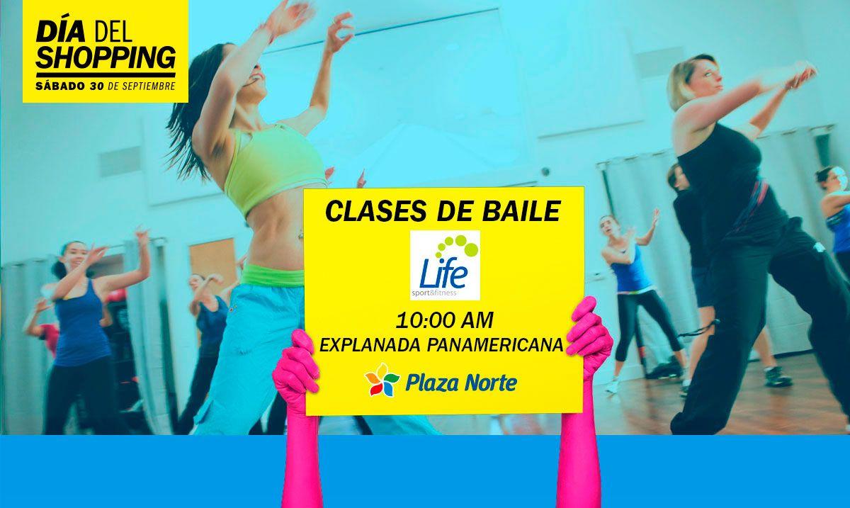 Clases de baile - Día del Shopping - Plaza Norte