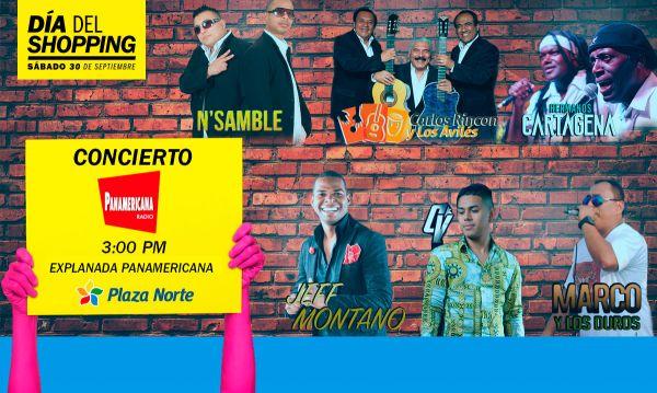 Concierto Panamericana  Día del Shopping  - Plaza Norte
