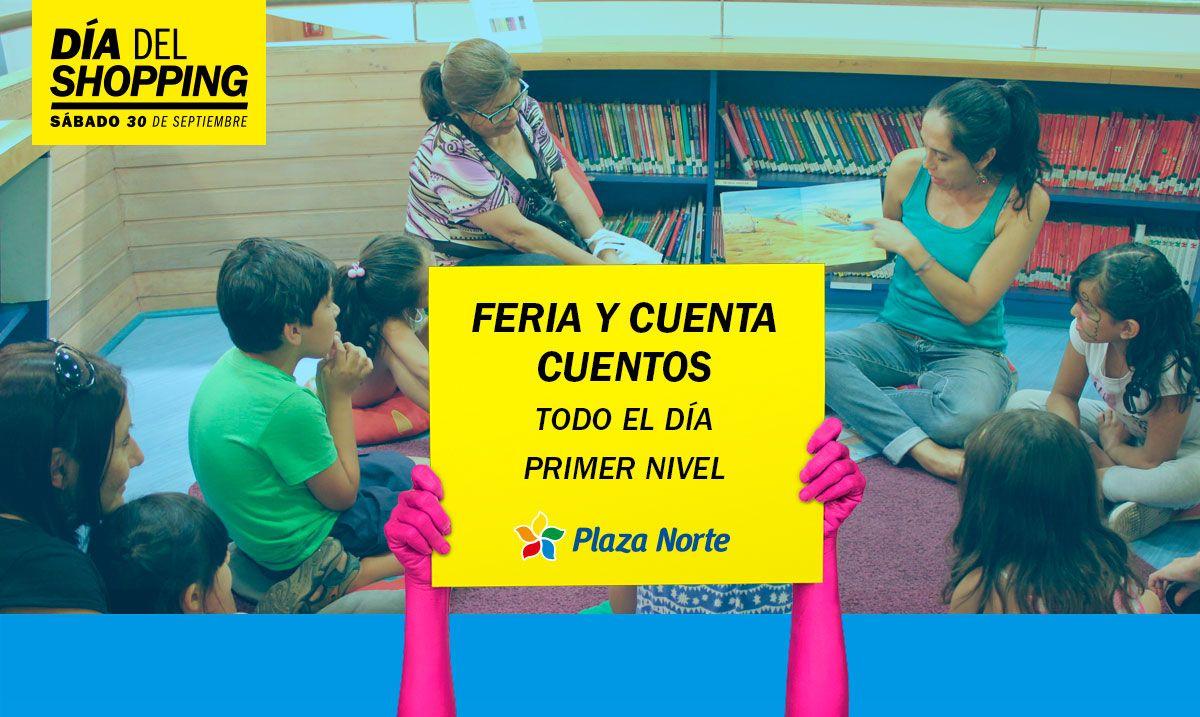 Cuenta cuentos - Día del Shopping  - Plaza Norte
