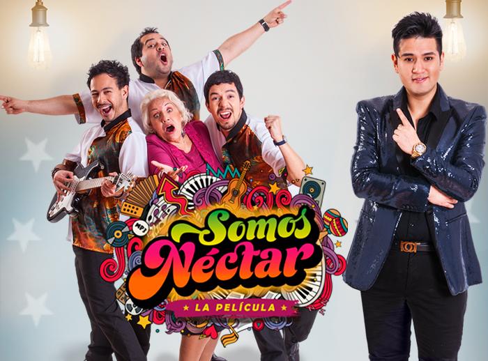 Firma de autógrafos de Somos Nectar - Plaza Norte