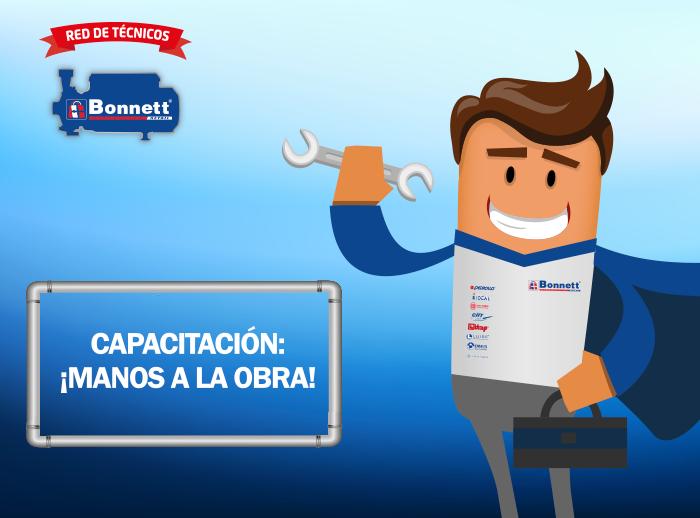 Capacitación con la red de técnicos de Bonnet - Plaza Norte
