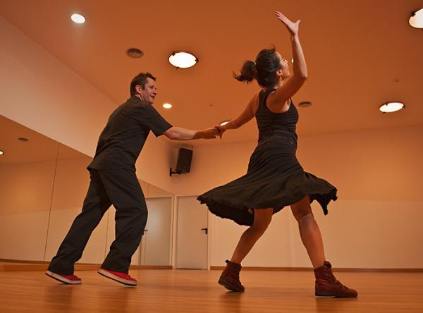 Exhibición de baile - Plaza Norte