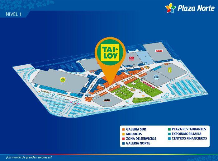 Tai Loy  - Mapa de Ubicación - Plaza Norte