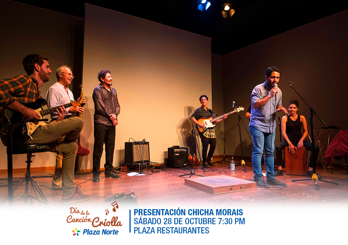 Show musical con Chicha Morais - Plaza Norte